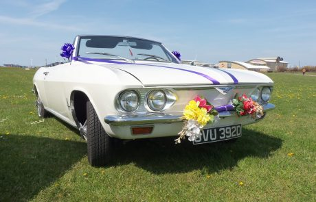 Northwest retro wedding car hire